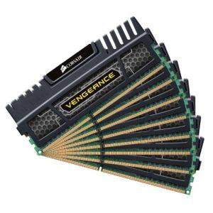 Corsair CMZ64GX3M8A1866C9 - Barrettes mémoire Vengeance 8 x 8 Go DDR3 1866 MHz CL9 240 broches