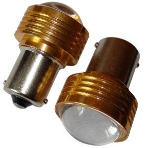 Aerzetix 2x ampoule 24V P21W R10W R5W LED HIGH POWER 3W blanc pour camion semi-remorque porte de garage portail