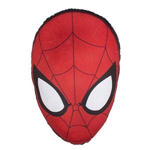 Character World Coussin En Forme De Tête De Spiderman - 40 x 28 cm