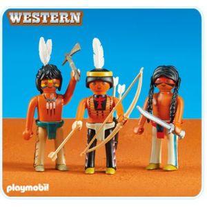 Playmobil 6272 Western - 3 indiens