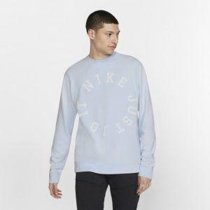 Nike Haut en molleton Sportswear pour Homme - Bleu - Taille XL - Male