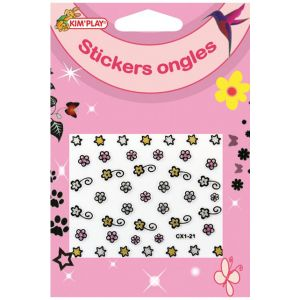 Kim'play STICKERS ONGLES