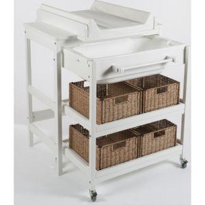 Quax Comfort smart - Table à langer avec baignoire