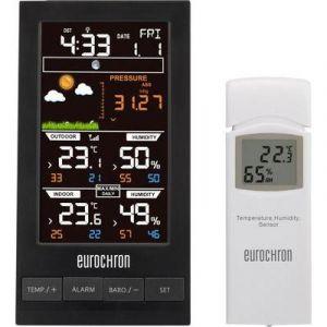 Eurochron Station météo radiopilotée numérique EFWS S250