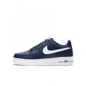 Nike Chaussure Air Force 1 pour Enfant plus âgé - Bleu - Taille 36.5 - Unisex