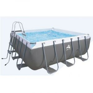 Piscine hors sol tubulaire Passaat Grey 3.00 X 3.00m