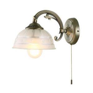 Globo Lighting Applique laiton vieilli 16x17x26cm Verre sablé