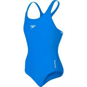 Speedo Medalist Endurance, Maillot de bain Femme, Bleu, FR 10 ans (Taille Fabricant 10 ans)