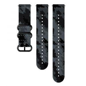 Suunto Pièces détachées Explore 2 Tetxile Strap - Concrete / Black - Taille One Size