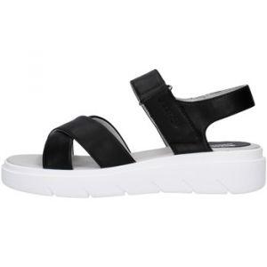 Geox Women's Classic Sandal Black, Taille:40