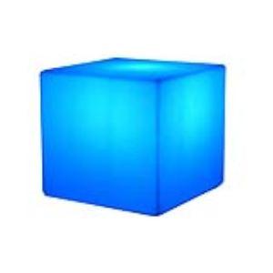 Batimex 303167 - Cube lumineux multicolore autonome H 40 cm avec télécommande