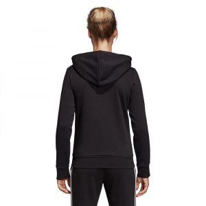 Adidas W E 3S Fz Hd Sweat-shirt Femme Noir/Blanc FR : M