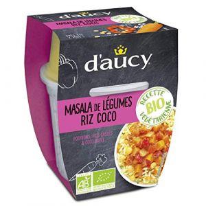 d'aucy Masala legumes et riz coco bio