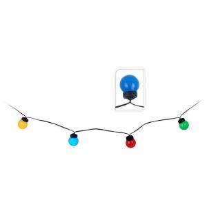Guirlande 20 boules 80 LED pour l'extérieur (10m)