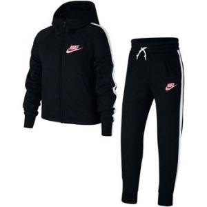 Nike Survêtement Sportswear pour Fille plus âgée - Noir - Couleur Noir/blanc/rose - Taille M