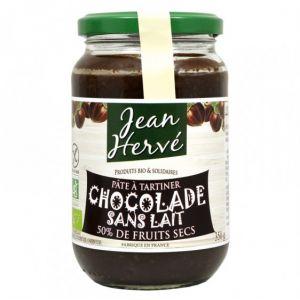 Jean Hervé Pâte à tartiner Chocolade sans lait bio 350g