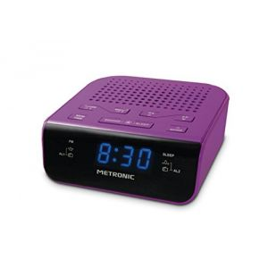Metronic 477012 - Radio-réveil
