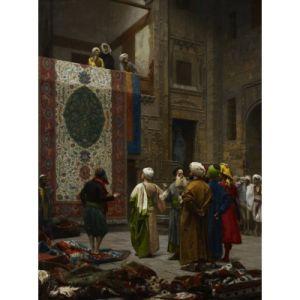 Grafika Puzzle Jean-Léon Gérôme : Marchand de Tapis au Caire, 1887 2000 pièces