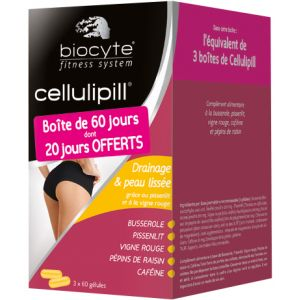 Biocyte Cellulipill - 3x60 gélules