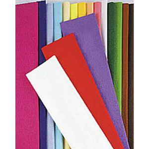 Maildor Paquet de 10 feuilles crépon ordinaire (200 x 50 cm)