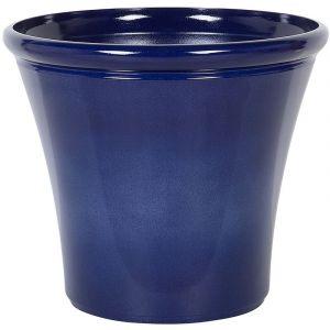 Beliani Cache-pot bleu marine ?46 cm KOKKINO