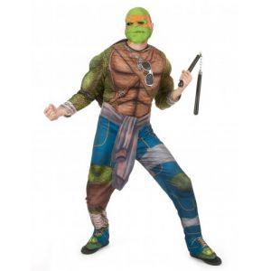Déguisement Michelangelo Tortues Ninja adulte