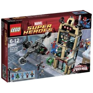Lego 76005 - Super Heroes : Marvel Comics - Spider-Man l'attaque du Daily Buggle