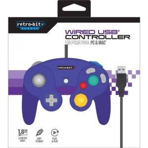 Retro-Bit Manette PC et Mac Filaire Gamecube USB Violette