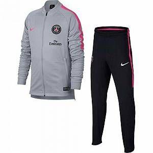 Nike Survêtement de football Paris Saint-Germain Dri-FIT Squad pour Enfant plus âgé - Gris - Taille XL