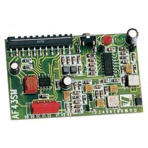 Came 001AF43SM - Carte radio embrochable en 433,92 MHz Supereterodine avec mémoire Eeprom 128 codes