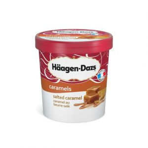 Häagen-dazs Glace caramel beurre salé - Le pot de 430g