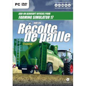 Farming Simulator 17 : Extension Récolte De Paille - Neuf [PC]