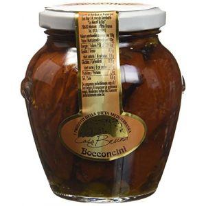 Casa Bruna Tomates Séchées aux Câpres à l'Huile d'Olive 300 g - Lot de 2