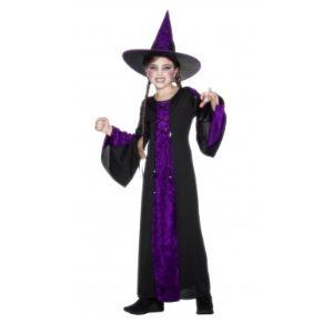 Smiffy's Costume enfant sorcière violette (9-12 ans)