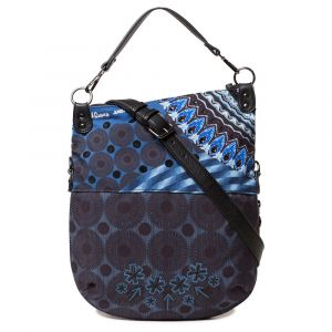 Desigual Sac Bandouliere BLUE FRIEND FOLDED bleu - Taille Unique