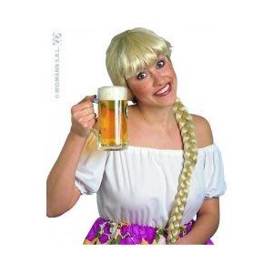 Perruque blonde bavaroise tavernière