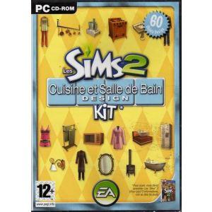 Les Sims 2 : Kit Cuisine et Salle de Bain Design - Extension du jeu [PC]