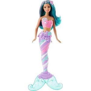 Mattel Barbie Sirène bonbons multicolore