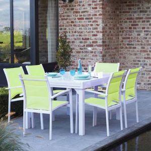 Salon de jardin vert anis - Comparer 50 offres