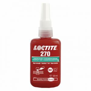 Loctite Freinfilet fort 270 haute résistance - flacon 50 ml