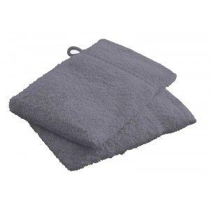 Today 2 gants de toilette 100% coton (16 x 21 cm)