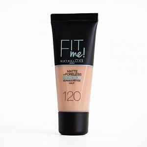 Maybelline FIT Me! Matte + Poreless 120 - Fond de teint liquide
