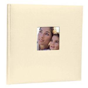 Zep Album photo traditionnel Cotton 40 pages - 24x24 cm - Blanc