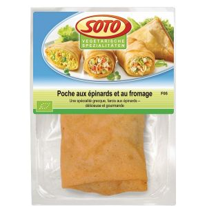 Soto Poche épinards fromage 150g