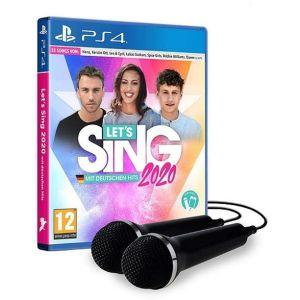 Let's Sing 2020 : Hits Français et Internationaux 2 Mics [PS4]