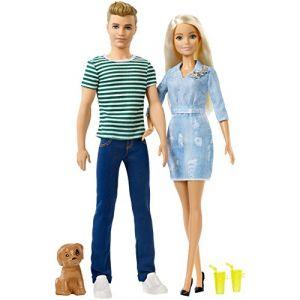Mattel Coffret Ken et Barbie