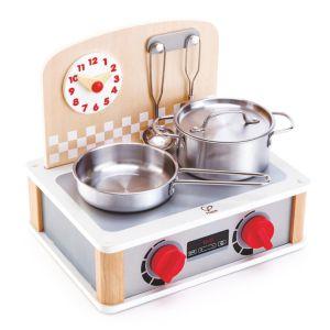 Hape Mini cuisinière et barbecue