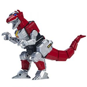 T Rex Zord + figurine Ranger rouge