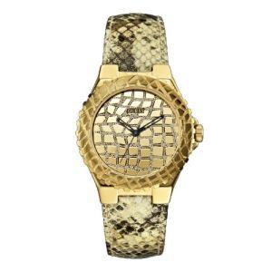 Guess W0227L - Montre pour femme avec bracelet en cuir