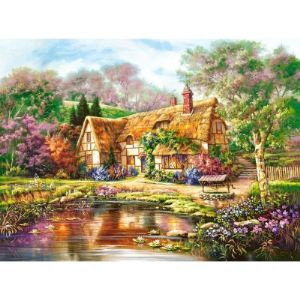Castorland Twilight at Woodgreen Pond - Puzzle 3000 pièces